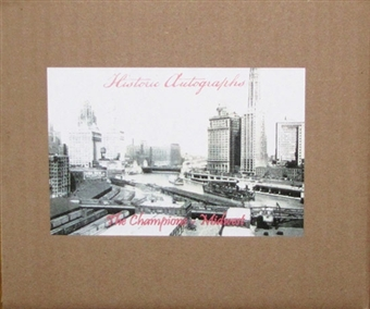 2012 Historic Autograph Midwest Champions Edition Baseball Hobby 6-Box Case