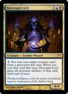 Magic the Gathering Dark Ascension Single Havengul Lich Foil