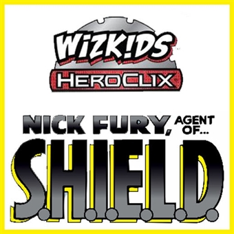 Marvel HeroClix: Nick Fury Agent of S.H.I.E.L.D. Booster Brick (10 Ct.) (Presell)
