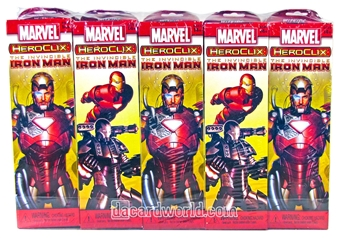 Marvel HeroClix The Invincible Iron Man Booster Brick (10ct)