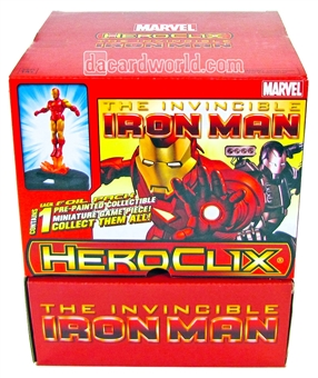 Marvel HeroClix The Invincible Iron Man 24-Pack Booster Box