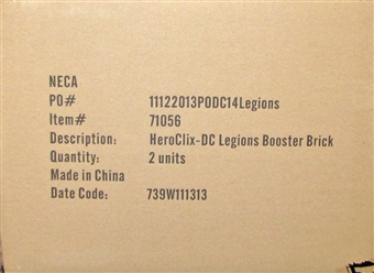 DC HeroClix: Superman and the Legion of Super-Heroes Booster Case (20 ct.)