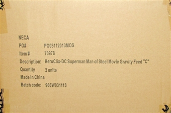 DC HeroClix Man of Steel 24-Pack 2 Box Booster Case