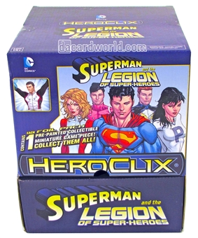 DC HeroClix: Superman and the Legion of Super-Heroes 24-Pack Booster Box