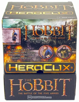 The Hobbit: The Battle of the Five Armies HeroClix 24-Pack Booster Box