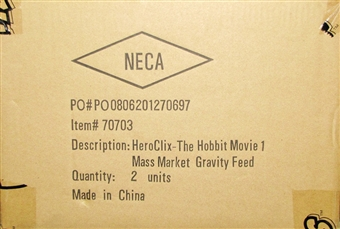 The Hobbit: An Unexpected Journey HeroClix 24-Pack 2 Booster Box Case