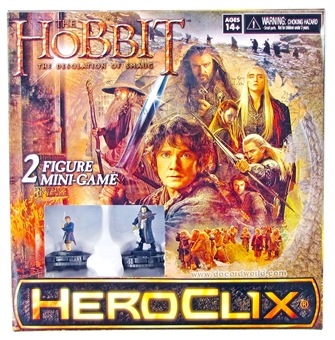 The Hobbit: The Desolation of Smaug HeroClix  Mini-Game