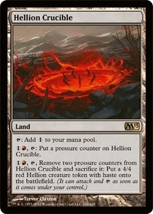 Magic the Gathering 2013 Single Hellion Crucible - 4x Playset - NEAR MINT (NM)