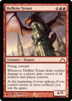 Magic the Gathering Gatecrash Single Hellkite Tyrant Foil