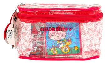 Hello Kitty 40th Anniversary Carry All Case (Lot of 3) - $59 VALUE !!!