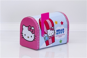 Hello Kitty America the Beautiful Series 2 Collectible Tin Mailbox (Box) (2012 Upper Deck)