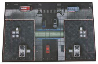 HeroClix: 2016 Collector`s Premium Map - Center Plaza