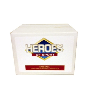 2013 Heroes of Sport Baseball: The Game of Heroes - Chapter 1 Hobby 3-Box Case