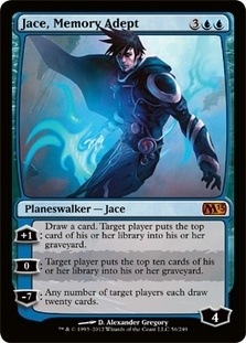 Magic the Gathering 2013 Single Jace, Memory Adept - NEAR MINT (NM)