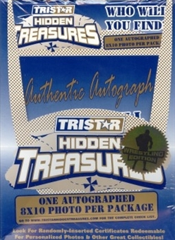 2003 Tristar Hidden Treasures Wrestling Box (Autographed 8x10s!)