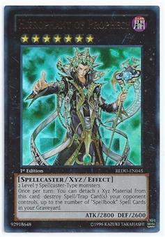 Yu-Gi-Oh Return of the Duelist Single Hierophant of Prophecy Ultra Rare