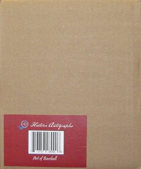 2013 Historic Autograph Art of Baseball Hobby 10-Box Case