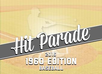 2016 Hit Parade Baseball 1960 Edition 10 Box Case