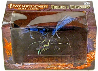 Pathfinder Battles: Heroes & Monsters (Huge Black Dragon) Figure