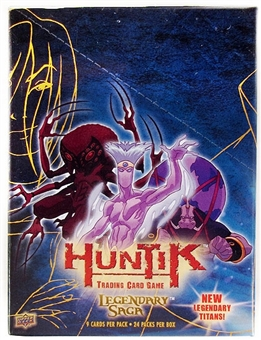 Upper Deck Huntik Legendary Saga Booster Box