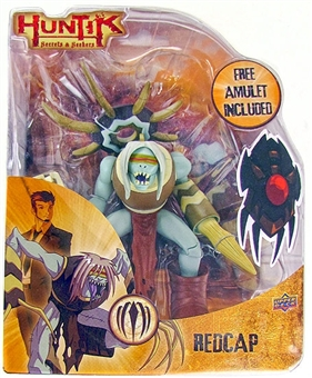 Upper Deck Huntik Secrets & Seekers Redcap Collectible Figure