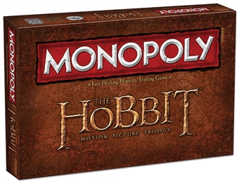 Monopoly: The Hobbit Trilogy Edition (USAopoly Inc)