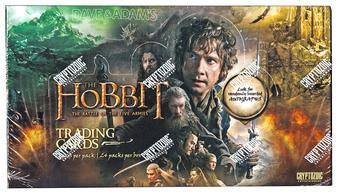 The Hobbit: The Battle of the Five Armies Trading Cards Box (Cryptozoic 2015)