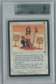 Magic the Gathering Legends Single Holy Day BGS 9 (9, 9, 9, 9.5)