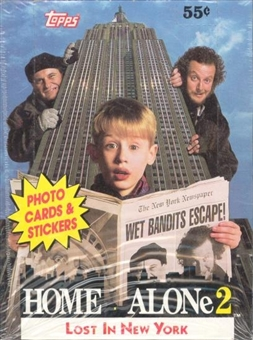 Home Alone 2 Wax Box (1991 Topps)