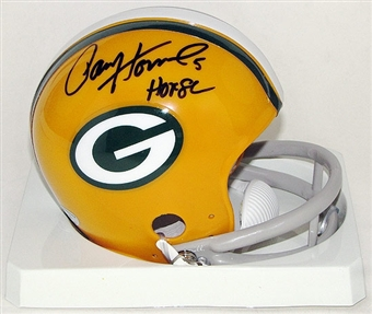 Paul Hornung Autographed Green Bay Packers Mini Helmet w/HOF 86