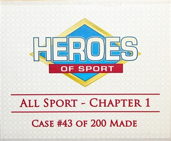 2013 Heroes of Sport: All Sports - Chapter 1 Hobby 3-Box Case