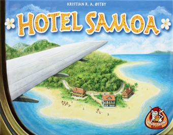 Hotel Samoa Game by Z-Man