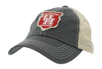 Houston Cougars Top Of The World Slated Gray Snapback Hat (Adult One Size)