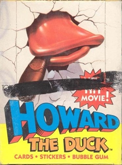 Howard the Duck Wax Box (1986 Topps)