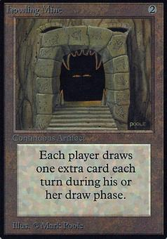 Magic the Gathering Alpha Single Howling Mine - SLIGHT PLAY (SP)