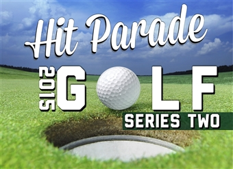 2015 Hit Parade Golf Series 2 (10 Hits! - Guaranteed Mem of Tiger, Rory, Jack, or Arnie)