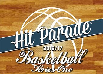 2016/17 Hit Parade Basketball Series 1 Box - 3 AUTOGRAPHS AND 7 MEMORABILIA CARDS PER BOX