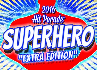 2016 Hit Parade Superhero Extra Edition 10 Box Case
