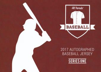 2017 Hit Parade Autographed Baseball Jersey Hobby Box - Series 1 - Bryce Harper & Mike Trout!!!!!
