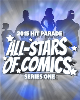 2015 Hit Parade All-Stars of Comics Edition - Series #1     (Win Avengers #1 CGC 5.0!!!)