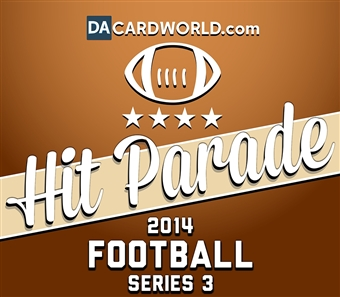 2014 Hit Parade Football Series 3