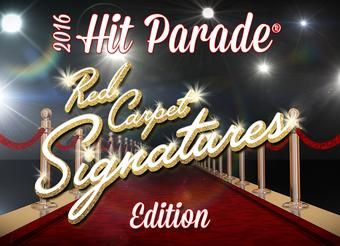 2016 Hit Parade Red Carpet Signatures 10 Box Case