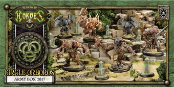 Hordes: Circle Orboros Army Box 2017 - LIMITED RELEASE