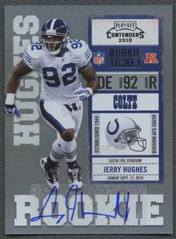 2010 Playoff Contenders #149A Jerry Hughes Rookie Autograph