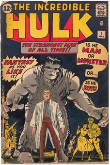 Incredible Hulk #1 GD/VG