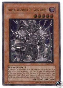 Yu-Gi-Oh Elemental Energy Single Sillva Warlord of Dark World Ultimate Rare