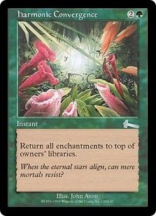 Magic the Gathering Urza's Legacy Single Harmonic Convergence FOIL