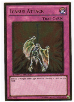 Yu-Gi-Oh Gold Series 3 Single Icarus Attack (GLD3-EN049)