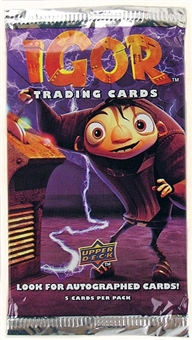 Igor Trading Cards Pack (2008 Upper Deck)