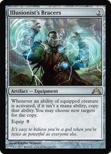 Magic the Gathering Gatecrash Single Illusionist's Bracers Foil